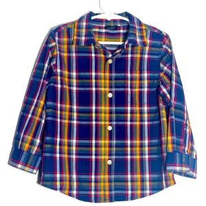 Faded Glory button down shirt 4T